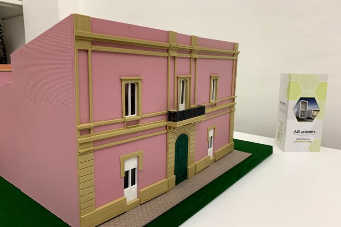 Plastico Stampa 3D - Palazzo Strafella Morciano di Leuca