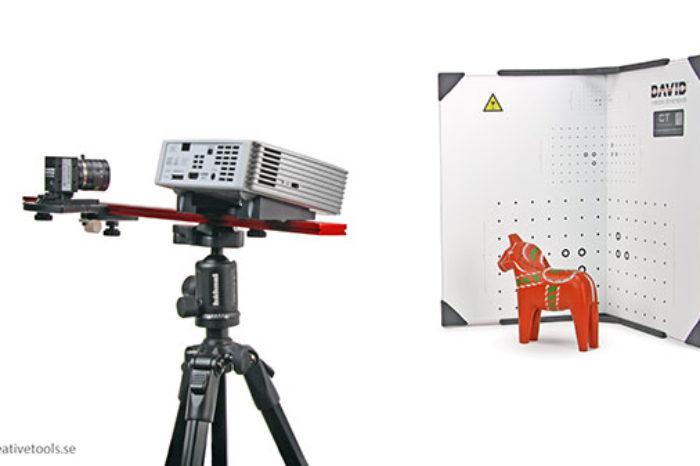 Scanner 3D - David SLS-2 - 3
